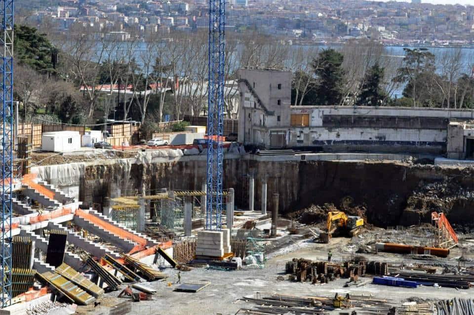 Vodafone Arena İnşaat Fotoğrafları