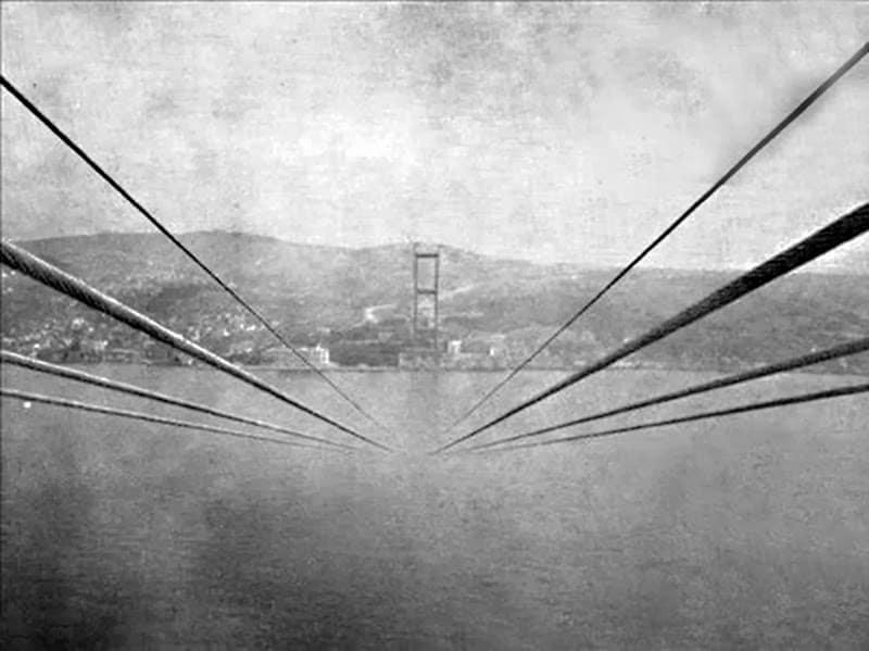 Boğaziçi Köprüsü İnşaat Fotoğrafları