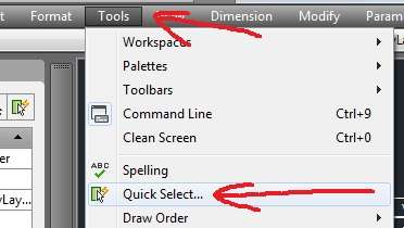autocad-quick-select