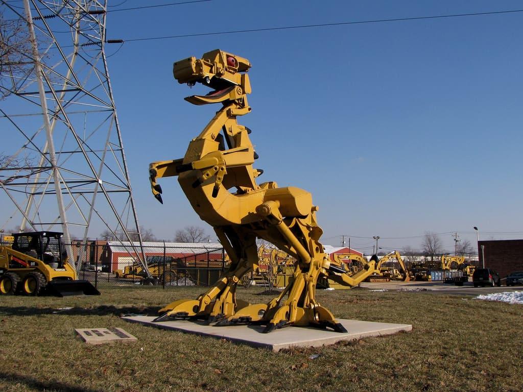 İş Makinasından Dinozor