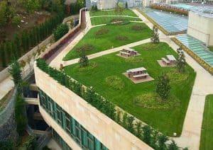 Doğadan Bir Parça : Yeşil Çatı