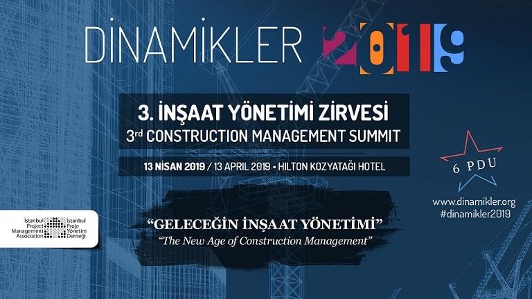 3. İnşaat Yönetim Zirvesi | 13 Nisan'da İstanbul'da