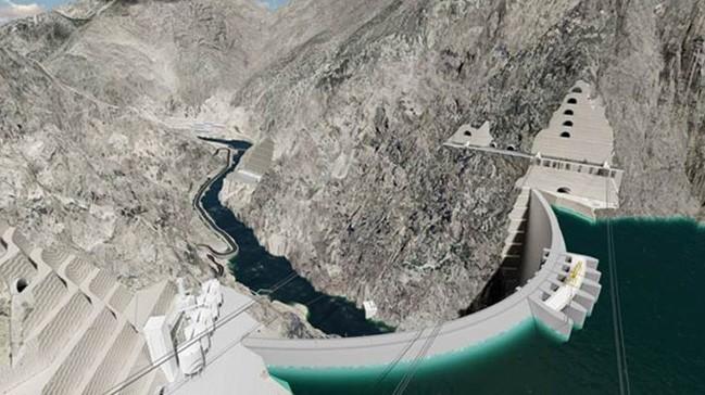 Dünya'nın Üçüncü Büyük Barajında 112 Metreye Ulaşıldı.