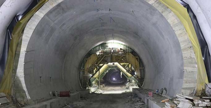 Honaz Tüneli Çalışmalarında Sona Yaklaşıldı