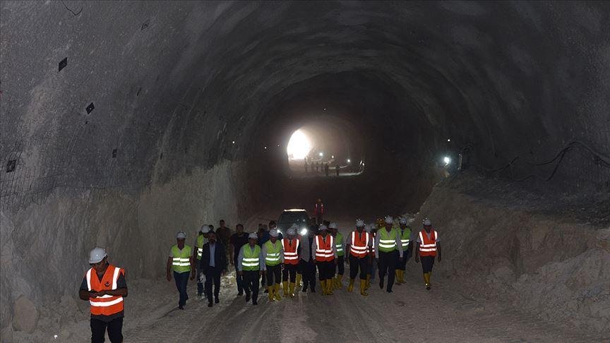 Hasankeyf Tüneli Sona Doğru