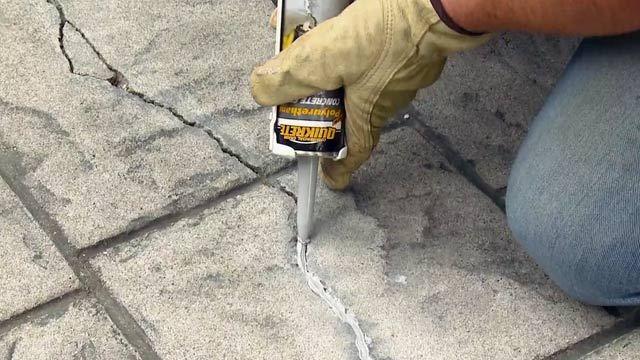 crack repair with epoxy