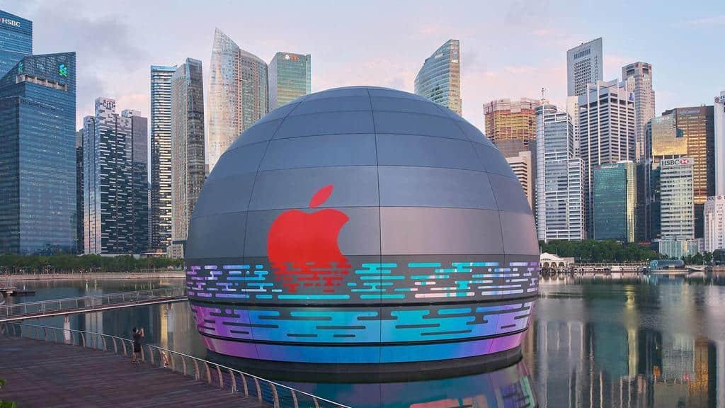 Apple'ın Suda Yüzen Mağzası