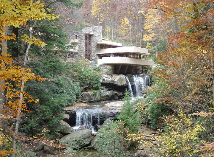 Doğa ile iç içe - Şelale Evi