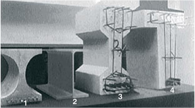 Şekil 8. Moment Taşıma Kapasitesi Aynı Farklı Malzemelerden Üretilmiş Kiriş Elemanları.
