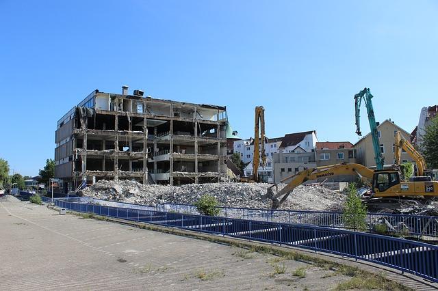 bina yıkımları