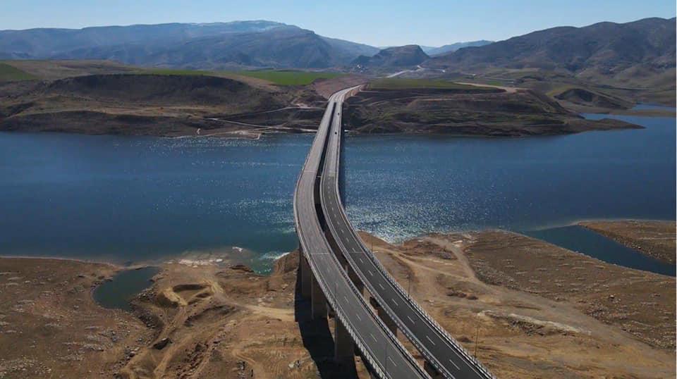 Ilısu Barajı Üzerindeki Hasankeyf - 2 Köprüsü Açıldı