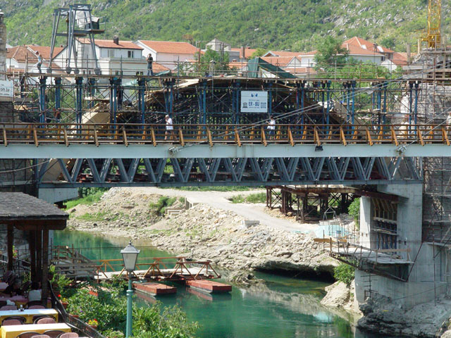 Mostar Köprüsü Restorasyonu