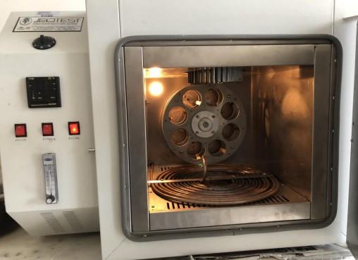 RTFOT (Dönel İnce Film Isıtma Kaybı) Deneyi - (Bitümlü Bağlayıcı Deneyleri Serisi - 5)